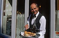 """Europe/France/Ile-de-France/75010/Paris/Canal Saint-Martin: Restaurant-bar """"Hôtel du Nord"""" garçon de café (AUTORISATION N°11) - 102 quai de Jemmapes"""
