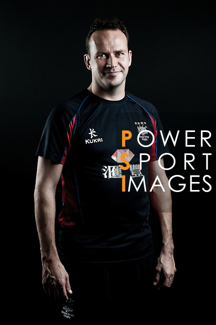Alex Gibbs poses during the Hong Kong 7's Squads Portraits on 5 March 2012 at the King's Park Sport Ground in Hong Kong. Photo by Andy Jones / The Power of Sport Images for HKRFU