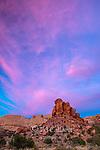 Sunset, Muley Twist Canyon, Capitol Reef National Park, Utah