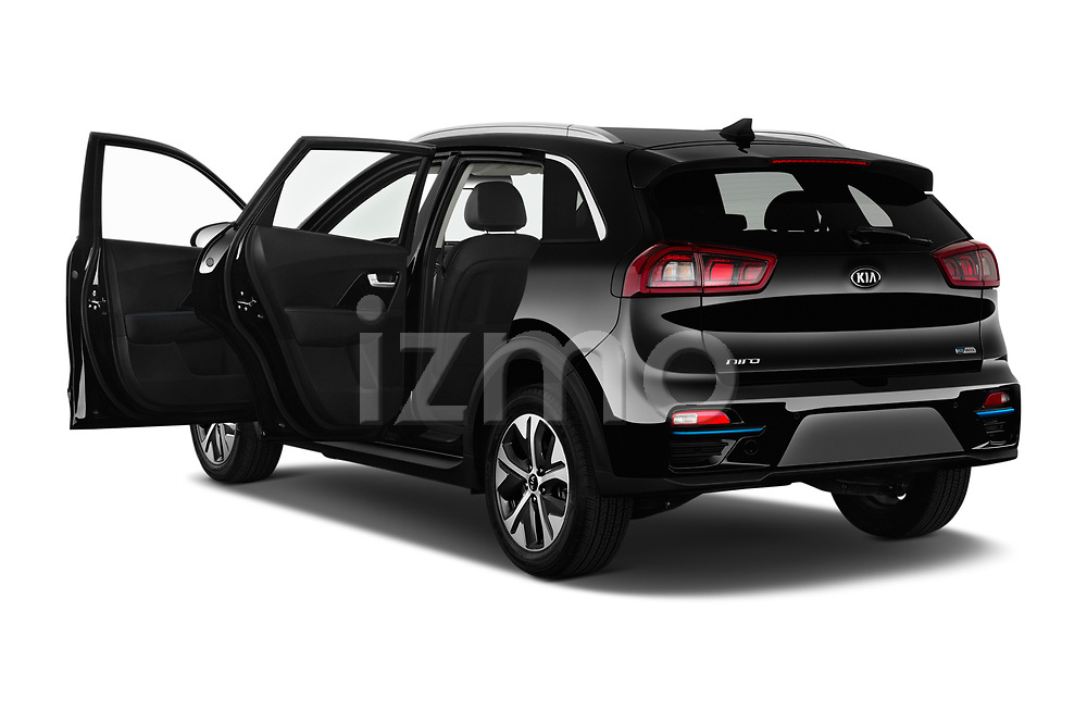 Car images close up view of a 2019 KIA Niro-EV  EX-Premium 5 Door Hatchback doors