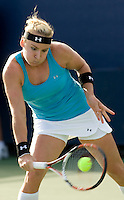 Bethanie Mattek-Sands (USA)  against  Iveta Benesova (CZE) in the first round. Mattek Sands beat Benesova 6-3 6-4 ..International Tennis - US Open - Day 1 Mon 31 Aug 2009 - USTA Billie Jean King National Tennis Center - Flushing - New York - USA ..Frey,  Advantage Media Network, Barry House, 20-22 Worple Road, London, SW19 4DH