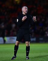 Referee Graham Salisbury<br /> <br /> Photographer Andrew Vaughan/CameraSport<br /> <br /> Emirates FA Cup First Round - Lincoln City v Northampton Town - Saturday 10th November 2018 - Sincil Bank - Lincoln<br />  <br /> World Copyright © 2018 CameraSport. All rights reserved. 43 Linden Ave. Countesthorpe. Leicester. England. LE8 5PG - Tel: +44 (0) 116 277 4147 - admin@camerasport.com - www.camerasport.com