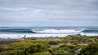 MARGARET RIVER, Western Australia/AUS (Saturday, April 14, 2018) - Stop No. 3 on the World Surf League (WSL) Championship Tour, the Margaret River Pro, continued today with the remaining heats of men&rsquo;s Round 1 and women&rsquo;s Round 1 in heavy four-to-six foot (1.2 - 1.8 metre) waves at North Point.<br /> <br /> North Point, the backup site known for its intense, barreling waves, hosted the world&rsquo;s best female CT surfers for the first time in history today. Despite the slower and more challenging conditions, the women dominated the day, including the highest single-wave scores of the event from Tatiana Weston-Webb (HAW) and Carissa Moore (HAW).  <br /> <br /> 2012 WSL Champion Joel Parkinson (AUS) beat Michel Bourez (PYF) and Patrick Gudauskas (USA) to close out the men&rsquo;s competition in Heat 12. Parkinson&rsquo;s heat total of a 10.34 was the highest of the men's morning as conditions slowed over the low tide, showing experience pays at the elite level.Photo: joliphotos.com