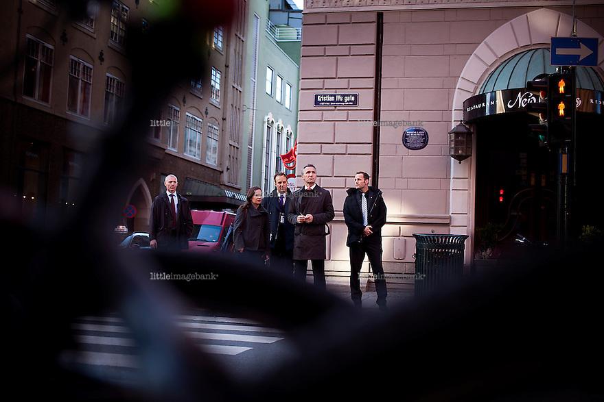 Oslo, Norge, 09.10.2012. Jens Stoltenberg snakker på YS konferansen på Hotel Bristol. Foto: Christopher Olssøn.