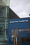 Ipswich Town 0, Oxford United 1, 22/02/2020. Portman Road, SkyBet League One. An exterior view of the stadium before Ipswich Town play Oxford United in a SkyBet League One fixture at Portman Road. Both teams were in contention for promotion as the season entered its final months. The visitors won the match 1-0 through a 44th-minute Matty Taylor goal, watched by a crowd of 19,363. Photo by Colin McPherson.