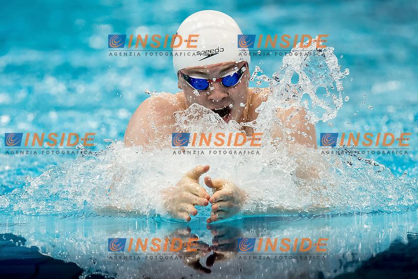 MURDOCH Ross GBR<br /> 100 breststroke men<br /> London, Queen Elizabeth II Olympic Park Pool <br /> LEN 2016 European Aquatics Elite Championships <br /> Swimming day 02 finals<br /> Day 09 17-05-2016<br /> Photo Giorgio Scala/Deepbluemedia/Insidefoto