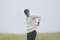 David Reddan Jnr (Nenagh) on the 9th tee during Round 1 of The East of Ireland Amateur Open Championship in Co. Louth Golf Club, Baltray on Saturday 1st June 2019.<br /> <br /> Picture:  Thos Caffrey / www.golffile.ie<br /> <br /> All photos usage must carry mandatory copyright credit (© Golffile | Thos Caffrey)