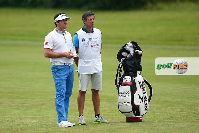 Ricardo Gouveia of Portugal during Round 4 of the Lyoness Open, Diamond Country Club, Atzenbrugg, Austria. 12/06/2016<br /> Picture: Richard Martin-Roberts / Golffile<br /> <br /> All photos usage must carry mandatory copyright credit (&copy; Golffile   Richard Martin- Roberts)