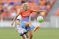 Houston, TX - Saturday July 16, 2016: Melissa Henderson during a regular season National Women's Soccer League (NWSL) match between the Houston Dash and the Portland Thorns FC at BBVA Compass Stadium.