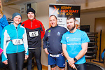 Celebrating birthdays were Nicola Moore, Paudie McQuinn, Karl Daly and Damien Horgan at the Puck Warriors Duathlon 5km run 15km cycle 5km run started at JP O Sullivan Park, Killorglin on Saturday