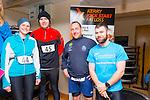 Celebrating birthdays were Nicola Moore, Paudie McQuinn, Karl Daly and Damien Horgan at the Puck Warriors Duathlon 5km run 15km cycle 5km run started at JP O Sullivan Park, Killorglin on Saturday