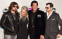 LOS ANGELES, CA - NOVEMBER 24: Billy Ray Cyrus, Kathleen McCrone, Wayne Newton arriving at the 2013 American Music Awards held at Nokia Theatre L.A. Live on November 24, 2013 in Los Angeles, California. (Photo by Celebrity Monitor)