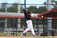 Albert Hernandez (63) of Monsignor Edward Pace High School in Davie, Florida during the Under Armour Baseball Factory National Showcase, Florida, presented by Baseball Factory on June 12, 2018 the Joe DiMaggio Sports Complex in Clearwater, Florida.  (Nathan Ray/Four Seam Images)