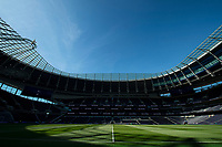A general view inside Tottenham Hotspur stadium during the Premier League match between Tottenham Hotspur and Crystal Palace at Wembley Stadium, London, England on 14 September 2019. Photo by Vince  Mignott / PRiME Media Images.
