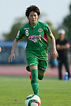 Yumi Uetsuji (Beleza), <br /> JULY 12, 2015 - Football / Soccer : <br /> 2015 Plenus Nadeshiko League Division 1 <br /> between NTV Beleza 1-0 AS Elfen Saitama <br /> at Hitachinaka Stadium, Ibaraki, Japan. <br /> (Photo by YUTAKA/AFLO SPORT)