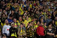 Fans during the A League - Wellington Phoenix v Western United FC at Westpac Stadium, Wellington, New Zealand on Sunday 13 October 2019. <br /> Photo by Masanori Udagawa. <br /> www.photowellington.photoshelter.com