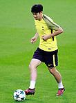 Tottenham Hotspur FC's Heung-Min Son during training session. October 16,2017.(ALTERPHOTOS/Acero)