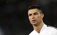 Football, Serie A: S.S. Lazio - Juventus, Olympic stadium, Rome, January 27, 2019. <br /> Juventus' Cristiano Ronaldo looks on prior to the Italian Serie A football match between S.S. Lazio and Juventus at Rome's Olympic stadium, Rome on January 27, 2019.<br /> UPDATE IMAGES PRESS/Isabella Bonotto