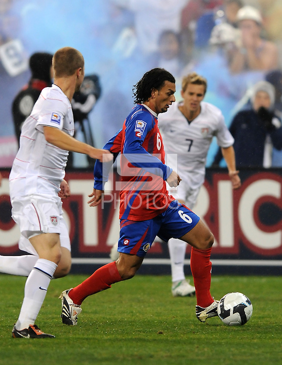 Costa Rica midfielder Michael Barrantes (6)    The USMNT tied Costa Rica 2-2 on the final game of the 2010  FIFA World Cup Qualifying round at RFK Stadium,Wednesday  October 14 , 2009.