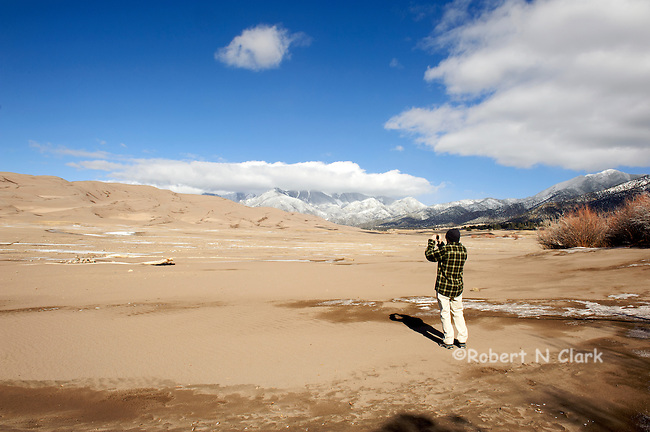 Colorado Great Sand Dunes near Alamosa