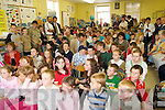 CELEBRATIONS:Pupils of Foilmore NS at the retirement function of  Mary Murphy who retired as principle of Foilmore National School on Friday last after 36 in the South Kerry School. They are  pictured at a function at the school on Friday...