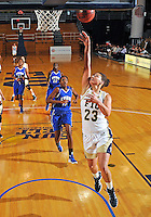 Florida International University forward Finda Mansare (23) plays against Lynn University.  FIU won the game 68-30 on November 30, 2011 at Miami, Florida. .