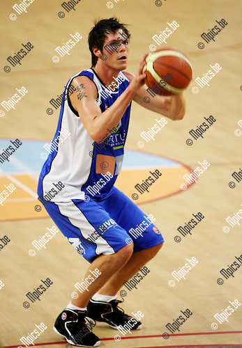 2008-08-25 / Basketbal / Boom / Yannick Lambreghts ...Foto: Maarten Straetemans (SMB)