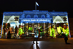 The faces of forty volunteers light up Salisbury's Guildhall