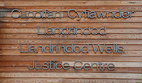 Pictured: The Justice Centre, Court in Llandrindod Wells, Powys, Wales, UK. Tuesday 07 November 2017