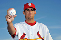 Mar 01, 2010; Jupiter, FL, USA; St. Louis Cardinals pitcher Eduardo Sanchez (79) during  photoday at Roger Dean Stadium. Mandatory Credit: Tomasso De Rosa/ Four Seam Images