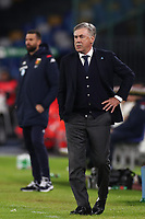 Carlo Ancelotti coach of Napoli<br /> Napoli 09-11-2019 Stadio San Paolo <br /> Football Serie A 2019/2020 <br /> SSC Napoli - Genoa CFC<br /> Photo Cesare Purini / Insidefoto