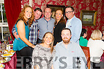Lisa O'Sullivan and Tom O'Donnell from Ballymac celebrate their Engagement with friends at Cassidys on Saturday. Pictured Catherine and Mark Blennerhassett, Gavin Lacey, Siobhan Lacey, Erick Rowan