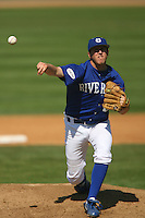March 28 2009: Matt Montgomery of the UC Riverside Highlanders during game against the CS Fullerton Titans at Riverside Sports Complex in Riverside,CA.  Photo by Larry Goren/Four Seam Images