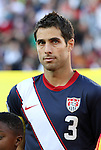 18 JUN 2010: Carlos Bocanegra (USA). The Slovenia National Team played the United States National Team to a 2-2 at Ellis Park Stadium in Johannesburg, South Africa in a 2010 FIFA World Cup Group C match.
