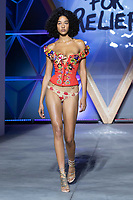 Model walks the runway during Fashion For Relief Cannes 2018 during the 71st annual Cannes Film Festival at Aeroport Cannes Mandelieu on May 13, 2018 in Cannes, France.<br /> CAP/NW<br /> &copy;Nick Watts/Capital Pictures