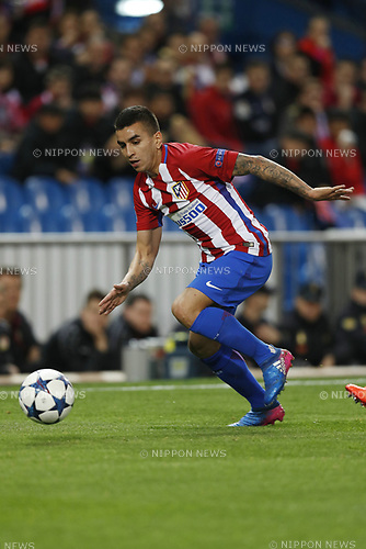 Angel Correa (Atletico), MARCH 15, 2017 - Football / Soccer : UEFA Champions League round of 16 2nd leg match between Club Atletico de Madrid 0-0 Bayer 04 Leverkusen at the Vicente Calderon Stadium in Madrid, Spain. (Photo by Mutsu Kawamori/AFLO) [3604]