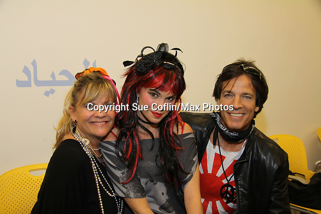Bradley Cole poses with Kim Zimmer and Mandy Bruno at the 9th Annual Rock Show for Charity to benefit the American Red Cross of Greater New York on October 9, 2010 at the American Red Cross Headquarters, New York City, New York. (Photos by Sue Coflin/Max Photos)