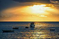 Sunset in Salvador, Bahia, Brazil