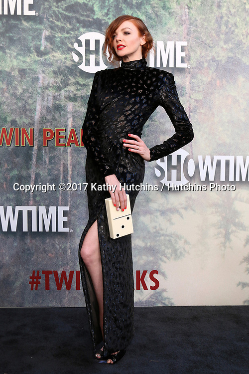 """LOS ANGELES - MAY 19:  Nicole LaLiberte at the """"Twin Peaks"""" Premiere Screening at The Theater at Ace Hotel on May 19, 2017 in Los Angeles, CA"""