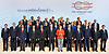 07.07.2017; Hamburg, Germany: WORLD LEADERS POSE FOR THE FAMILY PHOTO<br /> at the G20 Summit in Hamburg Germany.<br /> Mandatory Credit Photo: &copy;NEWSPIX INTERNATIONAL<br /> <br /> IMMEDIATE CONFIRMATION OF USAGE REQUIRED:<br /> Newspix International, 31 Chinnery Hill, Bishop's Stortford, ENGLAND CM23 3PS<br /> Tel:+441279 324672  ; Fax: +441279656877<br /> Mobile:  07775681153<br /> e-mail: info@newspixinternational.co.uk<br /> **All Fees Payable To Newspix International**