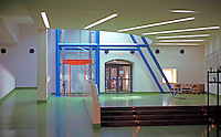 James Stirling, Michael Wilford & Assoc.: Neve Staatsgalerei--Interior. Stuttgart.