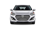 Car photography straight front view of a 2016 Hyundai Elantra Gt 5 Door Hatchback