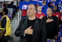 Orlando, FL - Friday Oct. 06, 2017: Bruce Arena during a 2018 FIFA World Cup Qualifier between the men's national teams of the United States (USA) and Panama (PAN) at Orlando City Stadium.