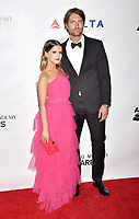 LOS ANGELES, CA - FEBRUARY 08: Maren Morris (L) and Ryan Hurd attend MusiCares Person of the Year honoring Dolly Parton at Los Angeles Convention Center on February 8, 2019 in Los Angeles, California.<br /> CAP/ROT/TM<br /> &copy;TM/ROT/Capital Pictures