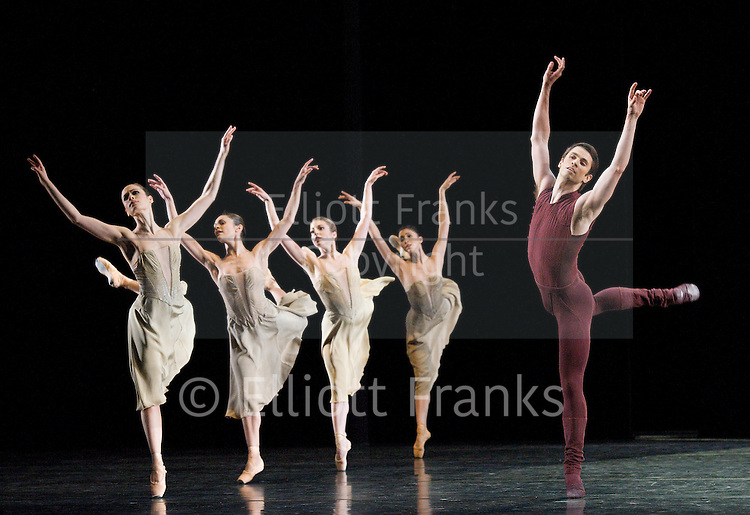 Asphodel Meadows<br /> Choreography by Liam Scarlett <br /> <br /> The Royal Ballet Triple Bill at The Royal Opera House, London, Great Britain <br /> <br /> General rehearsal <br /> 18th November 2011 <br /> <br /> <br /> Ricardo Cervera<br /> <br /> Soloists : Robert Clarke &amp; Kate Shipway<br /> <br /> <br /> Photograph by Elliott Franks