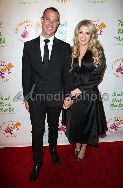 "05 October 2017 - Los Angeles, California - Jason Sabo, Pandora Todd. ""The Road To Yulin And Beyond"" Los Angeles Premiere. Photo Credit: F. Sadou/AdMedia"