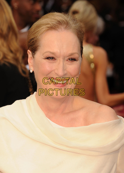 HOLLYWOOD, CA- MARCH 02: Actress Meryl Streep attends the 86th Annual Academy Awards held at Hollywood &amp; Highland Center on March 2, 2014 in Hollywood, California.<br /> CAP/ROT/TM<br /> &copy;Tony Michaels/Roth Stock/Capital Pictures