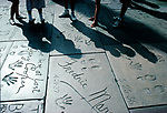 People standing outside Chinese Theatre