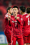 Shanghai FC Forward Wu Lei celebrating his goal during the AFC Champions League 2017 Group F match between Shanghai SIPG FC (CHN) vs Western Sydney Wanderers (AUS) at the Shanghai Stadium on 28 February 2017 in Shanghai, China. Photo by Marcio Rodrigo Machado / Power Sport Images