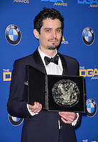Damien Chazelle at the 69th Annual Directors Guild of America Awards (DGA Awards) at the Beverly Hilton Hotel, Beverly Hills, USA 4th February  2017<br /> Picture: Paul Smith/Featureflash/SilverHub 0208 004 5359 sales@silverhubmedia.com